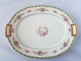 Jordan Marsh Company Plate Serving Platter Oval CH Field Haviland Limoge... - $27.40