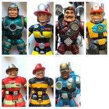 Rescue Heroes Mattel Fisher Price Action Figures Lot 7 Pc  - $34.99