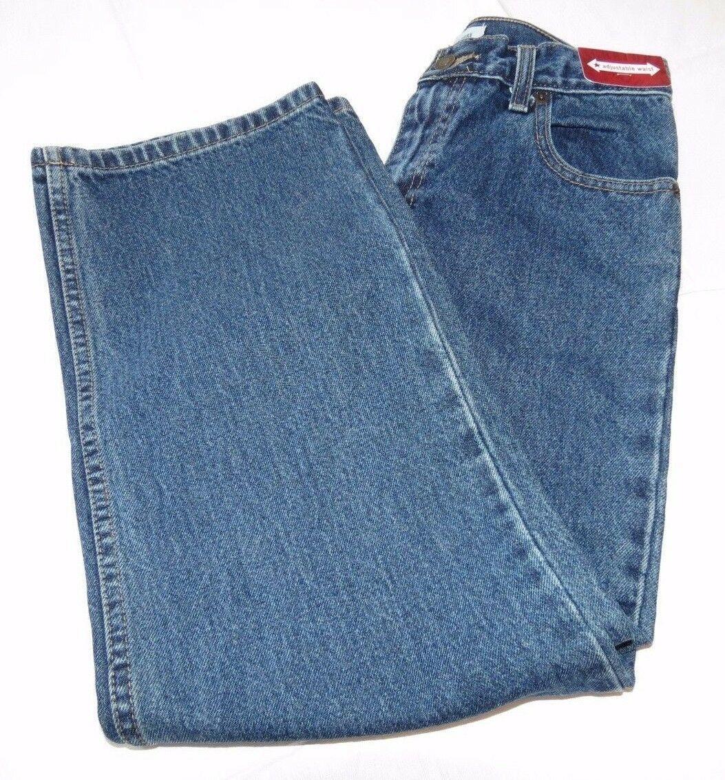 Levis Unterschrift Jungen Jugend Jeans 14 Regular Gerades Bein Locker für