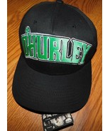 Hurley O'Hurley Black Flexfit Hat Size Large X-Large Brand New - $20.70