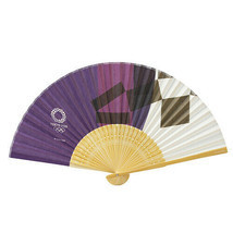 Tokyo 2020 Olympics Limited Folding fan Sensu Japanese paper Fuji color New - $50.48