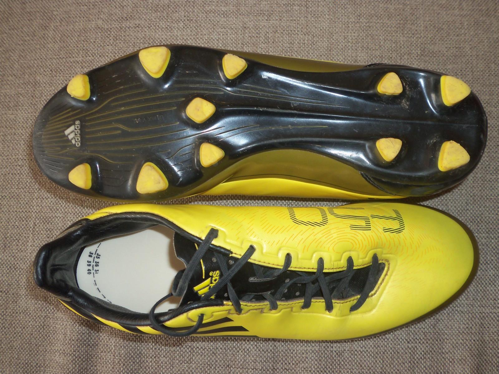 Adidas F50 F30 Fg Uk 8 Usa Scarpe Da Calcio E 50 Oggetti Simili
