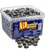 TYRKISK PEBER (Turkish Pepper) candy 2.2kg Extra Hot looseweight FAZER E... - $54.44