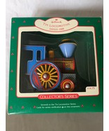 Hallmark Keepsake Ornament Tin Steam Locomotive Christmas 7th in Series ... - $18.69