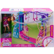 Barbie Team Stacie Extreme Sports ZipLine Skateboard Playset Kid Toy Gif... - $62.36