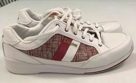 pre Dexter Lori Bowling White Red Bowling Shoes Women 7.5 - $29.69