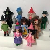 2008 Madame Alexander Wizard of Oz Dolls Dorothy Tin Man Cowardly Lion Scarecrow - $98.99