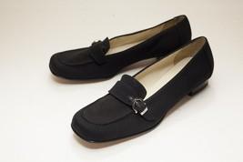 Salvatore Ferragamo 5.5 Black Loafers Women's - $146.00