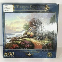Thomas Kinkade Painter of Light A New Day Dawning 1000 Pieces Jigsaw Puzzle  - $19.95