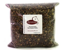 LAVANTA COFFEE GREEN FAIR TRADE ORGANIC SWISS WATER PROCESSED DECAF SUMA... - $21.28