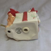 Avon 2006 Collectible Porcelain Gift Box Ornament Christmas Decoration Xmas image 5