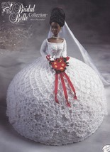 Miss December, Annie's Bridal Belle Crochet Doll Clothes Pattern Booklet - $4.95