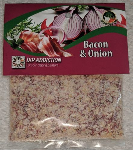 Dip Addiction Bacon And Onion Veggie Dip 100 Percent Natural Ingredients