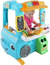 Fisher-Price Laugh & Learn Servin' Up Fun Food Truck DYM74 NEW - $82.16