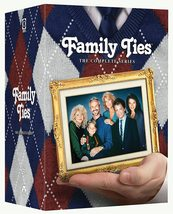Family Ties The Complete Series Collection 1982-1989 DVD Michael J. Fox New - $58.95