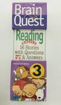 Brain Quest Grade 3 Reading (Brain Quest Decks) - $8.25