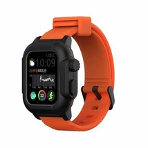 Waterproof Case for Apple Watch Band 4 iWatch Bands Silicone Strap 44mm 40mm Bra - $29.25