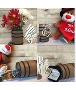 WOODEN  BARREL / Miniature Barrel  5 Inches Tall / Rustic / Crafts / Wed... - $34.00