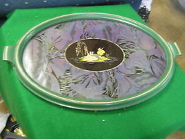 Collectable Vintage Victorian Design TRAY w/Wall Hanger....SALE - $9.70