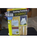 Simplicity Sewing for Dummies 9566 Variety of Valances & Tab Top Panels ... - $5.93