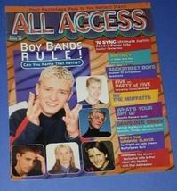 NSYNC SOFTBOUND BOOK VINTAGE 1999 ALL ACCESS - $24.99