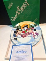Schmid Collectors Gallery Merry Mouse Medley Plate 1987 - $14.75