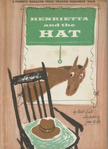 Henrietta and the Hat by Mabel Watts 1962 Jane Miller Vintage Picture Bo... - $10.88