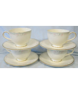 Royal Doulton Matinee H5135 Cup & Saucer Set of 4 - $40.48