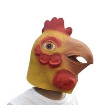 Novelty Chicken Animal Head Costume Masks Halloween Party Cosplay Decora... - $18.97