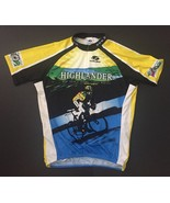 Voler Cycling Shirt XLarge Highlander Cycle Tour NY Finger Lakes Region Top - $24.74