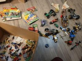 huge ninjago lot with books and figures.. - $198.00