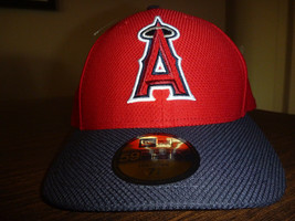 LOS ANGELES ANGELS NEW ERA 59FIFTY 2016 LOW CROWN GAME RED FITTED CAP Sz... - ₹1,675.70 INR
