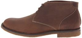 Neu Johnston Murphy Copel Und Chuck Herren Hellbraun Leder Kreppsohle Schuhe Ovp image 2
