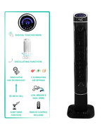 Vie Air 50 Inch Luxury Digital 3 Speed High Velocity Tower Fan with Fres... - $125.67
