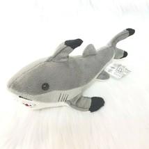 "9"" Fiesta Gray Shark Plush Stuffed Animal Toy  A46861 No Beans Lovey B350 - $14.97"