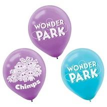Wonder Park Movie Nickelodeon TV Kids Birthday Party Decoration Latex Balloons - $7.17