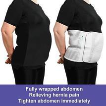 JOMECA Plus Size Bariatric Abdominal Binder, Hernia Support Compression Belt, St image 6