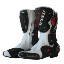 motorcycle shoes Bike race thigh boots cross-country boots knight boots ... - $158.99