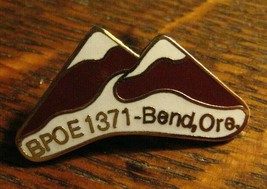 Bend Oregon Elks Club Pin - Vintage BPOE 1371 Elk Lodge OR USA Member Ba... - $19.79