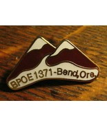 Bend Oregon Elks Club Pin - Vintage BPOE 1371 Elk Lodge OR USA Member Ba... - $19.79