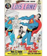 Superman's Girlfriend Lois Lane Comic Book #116, DC Comics 1971 VERY FINE+ - $31.85
