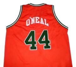 Jermaine O'Neal Eau Claire High School Basketball Jersey Sewn Orange Any Size image 2