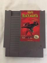 WRATH OF THE BLACK MANTA NINTENDO NES GAME CARTRIDGE - $8.86