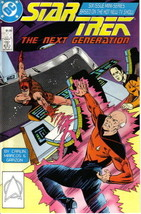 Star Trek: The Next Generation Comic Book Mini-Series #3, DC 1988 NEAR MINT - $3.99