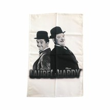 Laurel & Hardy Classic Pose Tea Towel - $12.49