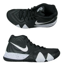 Nike Kyrie 4 TB Mens Basketball Shoes Size 10 Oreo Black White AV2296 00... - $98.95