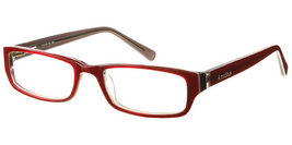 Amadeus Eyewear AS0704 Eyeglasses in Burgundy - $63.99