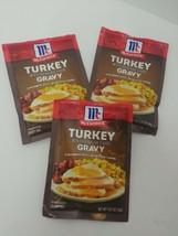 McCormick Turkey Gravy .87 Oz Each Best by 8/22  (3 Packs) - $9.89
