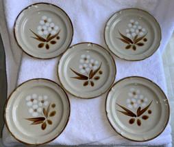 "Set of 5 The Classics Hearthside Castlewood Stoneware Salad Plates 7.5"" ... - $29.99"
