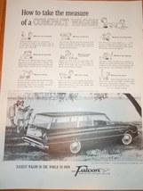 Vintage Ford Falcon Magazine Advertisement 1960 - $6.99